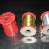 Fil enduit de fer de PVC de fil de fleuriste de qualité