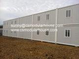Casas modulares del envase para el proyecto de Filipinas