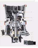 As séries do Gp escolhem o triturador de esmagamento longo hidráulico do cone do tempo do cilindro