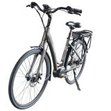 bici elettrica della bicicletta di 48V350W 36V250W di litio della batteria della METÀ DI città elettrica del motore
