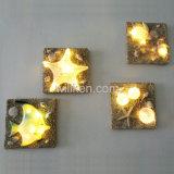 Ocean estatuas Arte Starfish hogar decoración de las luces de resina