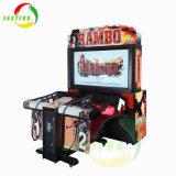 Het binnen Muntstuk stelde de Gekke het Ontspruiten het Ontspruiten van de Arcade van Rambo van het Kabinet Machine van Spelen in werking