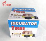 Hete Incubator Kleine ew9-7 van het Ei van de Verkoop Goedkope Volledige Automatische Mini