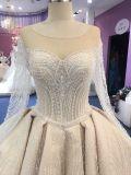 Señoras Katywell Spray musulmán Balón de Oro vestido vestido de novia