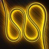 Haute luminosité et un mini standard au néon de lumière jaune 220V 8*16mm