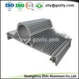 De nieuwe Uitdrijving van het Aluminium van het Ontwerp voor Heatsink met CNC het Machinaal bewerken
