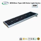 2018 nuovo tipo indicatore luminoso solare tutto compreso 25W del giardino del LED