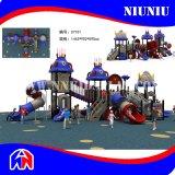 Glissière extérieure de parc d'attractions de cour de jeu de constructeur de la Chine