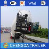 반 2개의 차축 공기 압축기 Bulker 시멘트 탱크 트레일러