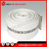 Boyau de bouche d'incendie de toile de 8 pouces avec la garniture matérielle de PVC