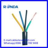 4 cabo elétrico flexível do sqmm do núcleo 16