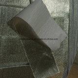 アルミニウムフィルムの上塗を施してある放射熱反射ファブリック