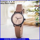 La conception personnalisée activité Montres bracelet cuir femmes cadeaux montres (WY-122D)