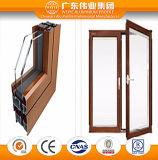 Guichet en aluminium de tissu pour rideaux de bonne qualité fabriqué en Chine