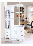 Gabinete Home do vinho da cremalheira de indicador do canto da mobília
