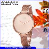Wasserdichte Uhr-Legierungs-Uhr für Frauen-Armbanduhr (Wy-109C)