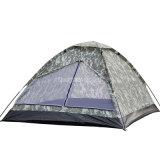 Tente de personne de la vente en gros 2, tente de bas de PE de tente campante de Skyblue de couche unitaire