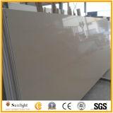 Weiß/Rosa/gelber Farben-Quarz-Stein für Bodenbelag