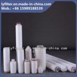filtro dobrado 0.1, 0.22, 0.45 mícrons do cartucho da membrana do Pes com 40 polegadas