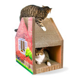 Haustier-Produkt-gewölbtes Papier-Papphaus-Katze-Spielwaren
