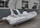 Liya 20ft costillas inflables China Balsa de la consola central de fibra de vidrio