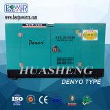Tipo silenzioso generatore di Denyo di potere diesel con il motore di Isuzu