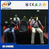 оборудование фактически реальности имитатора кино 12D сильное делает водостотьким/теплозащитный материал