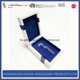 Rectángulo de empaquetado de papel rígido de la insignia de encargo para la promoción del perfume