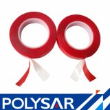 Cinta adhesiva de la espuma de acrílico clara con el trazador de líneas rojo de la película
