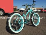 Retro/Weinlese/Kreuzer 3/7speed der Nostalgie-26in des Strand-X4 breit/fettes Reifen-Fahrrad/fettes Gummireifen-Fahrrad/Sand/Schnee-Fahrrad/fetthaltiges Fahrrad-weißer Wand-Gummireifen, Inner-Unterbrecher dreht Cer