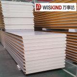 El panel de emparedado aislado del material de construcción EPS/Mineral Wool/PU