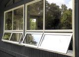 Guichet en aluminium en verre de double de constructeur de porte de Foshan
