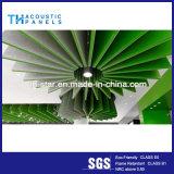 Comitato acustico materiale della parete interna della fibra di poliestere della decorazione