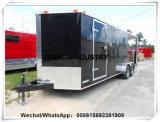 Kiosque mobile de fourgons de camion de cuisine de vente en forme de V de nourriture de Chine Qingdao