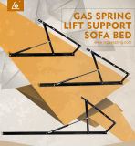 ベストセラー窒素の壁のベッドのためのガスによって満たされる上昇のばね