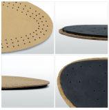 羊皮のハイヒールの靴のための革Forefootのクッション