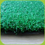 15mm UVpet Einzelheizfaden-lockiger Garn-Volleyball-künstlicher Rasen