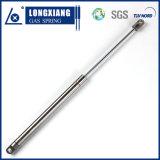 ステンレス鋼の圧縮の金属球が付いている持ち上がるガスの支柱
