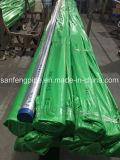 Gefäß des Edelstahl-304/316L poliert geschweißt ringsum Rohr
