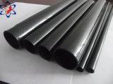 Pipe/tube de fibre de carbone de tolérance de température élevée