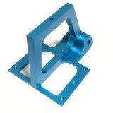 Parte de mecanizado CNC anodizado en color
