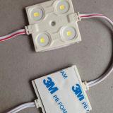 Luces impermeables del módulo del Hight-Brillo LED de 3LEDs 0.72W para el proyecto al aire libre de la iluminación de la muestra del LED/Lightbox/las cartas del metal