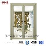 Rincer avec de la conception populaire porte en verre de portes d'Arche en aluminium