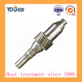 螺旋形のピニオンギヤシャフト、風力の企業の減力剤で使用される車輪シャフト