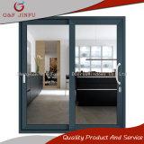 Vidrio Tempered del doble del metal que resbala la puerta del panel con el perfil de aluminio (JFS-8021)
