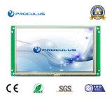 Intense luminosité, module du TFT LCD 7 '' 800*480 avec l'écran tactile résistif