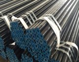 De eerste Zwarte Geschilderde Naadloze Pijp van de Kwaliteit ASTM A106 Gr. B