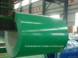 Aço galvanizado telhadura revestido cor na bobina