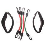 Banda de resistência a ioga Pilates tubos de bandas de exercício da perna de treinamento