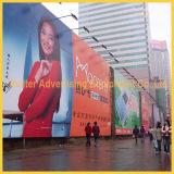 Im Freien Wand-hängende Fahnen-Bildschirmanzeige